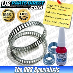 BMW M3 ABS RELUCTOR RINGS *FULL KIT* (E46) REAR [2002-2007] - ABS5004