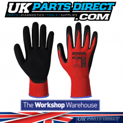 Red Cut Resistant Gloves - Size Medium/8