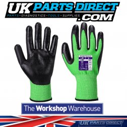 Green Cut Resistant Gloves - Size Large/9