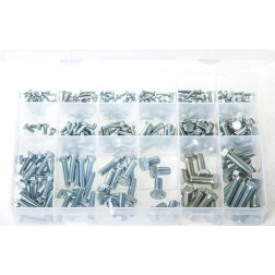 "Assorted ""MAX"" Box of Set Screws - High Tensile - Metric - 290 Pieces"