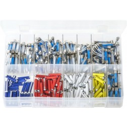 Assorted Box of Glass & Torpedo Fuses - 350 Pieces