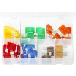 Assorted Box of LITTELFUSE MAXI Blade Fuses - 29 Pieces