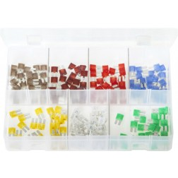Assorted Box of LITTELFUSE MICRO2 Blade Fuses - 175 Pieces