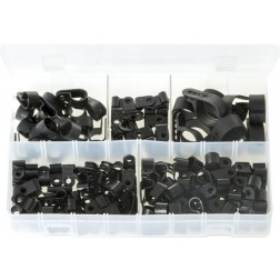 Assorted Box of P-Clips - 160 Pieces