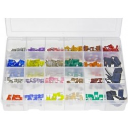 "Assorted ""MAX"" Box of LITTELFUSE Blade Fuses & Holders - 321 Pieces"