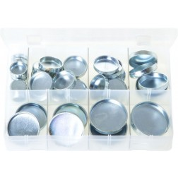 Assorted Box of Core Plugs - Cup Type - Imperial - 38 Pieces