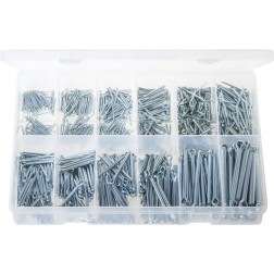 "Assorted ""MAX"" Box of Split Pins - Imperial - 850 Pieces"