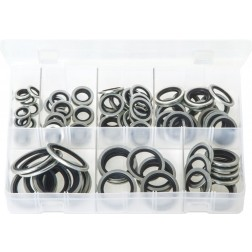 Assorted Box of Bonded Seals (Dowty Washers) - BSP - 100 Pieces