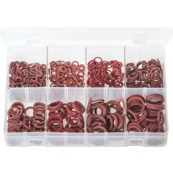 Assorted Box of Fibre Washers - Metric - 600 Pieces