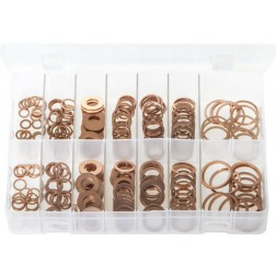 Assorted Box of Diesel Injector Washers - 250 Pieces