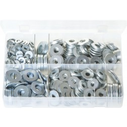 Assorted Box of Flat Washers 'Form C' - Metric - 620 Pieces