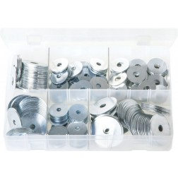 Assorted Box of Repair Washers - Imperial - 220 Pieces