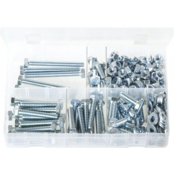 Assorted Box of M8 Fasteners - 245 Pieces