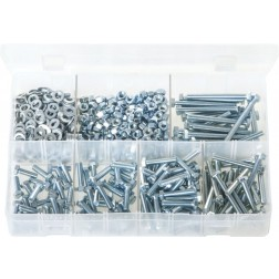 Assorted Box of M5 Fasteners - 550 Pieces