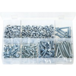 Assorted Box of M6 Fasteners - 485 Pieces