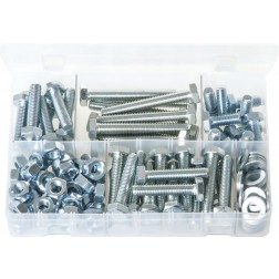 Assorted Box of M10 Fasteners - 150 Pieces