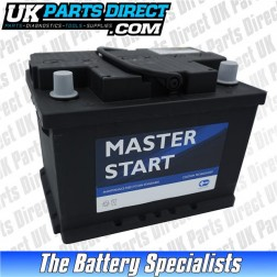 Masterstart Performance 075 Car Battery - 2 YEAR GUARANTEE