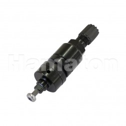 Black Replacement Clamp-In Valves for EU-Pro TPMS Sensor