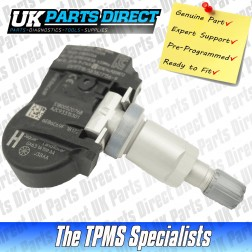 Jaguar F-Type TPMS Sensor (12-20) - Genuine Jaguar Part - C2D47173