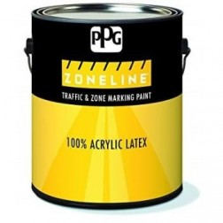 5ltr Traffic Yellow Metal Paint