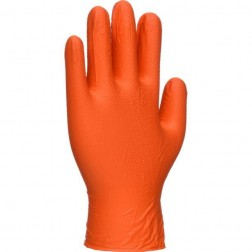 Portwest Orange Disposable Gloves Qty.3