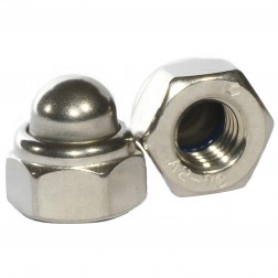 M12 Dome Nuts S/S Qty. 100