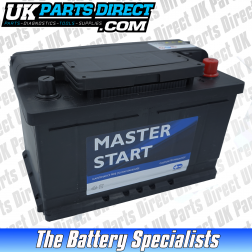 Masterstart Performance 100 Car Battery - 2 YEAR GUARANTEE