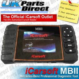 Mercedes Professional Diagnostic Scan Tool - iCarsoft MBII