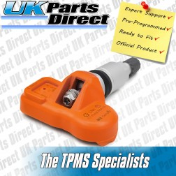 Jaguar F-Type TPMS Tyre Pressure Sensor - PRE-CODED - Ready to Fit - 433Mhz