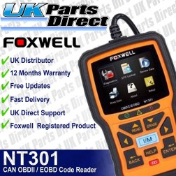 Foxwell NT301 CAN OBDII / EOBD Engine Code Reader