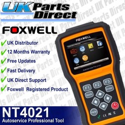 Foxwell NT4021 Autoservice Professional Tool - **LATEST 2018 SERIES TOOL**