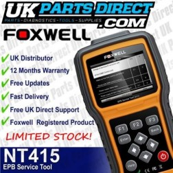 Foxwell NT415 Engine Scan Tool / Electronic Parking Brake EPB SBC Service Tool