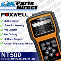Foxwell NT500 Full System - VAG Makes Professional Diagnostic Scan Tool *REPLACED BY NT510*