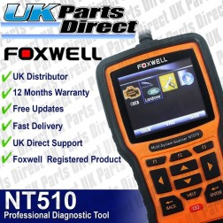 Foxwell NT510 Full System - Land Rover & Jaguar Professional Diagnostic Scan Tool