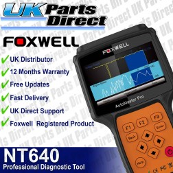Foxwell NT640 Full System - American Makes Professional Diagnostic Scan Tool
