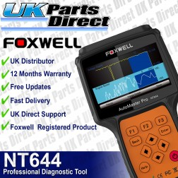 Foxwell NT644 PRO All System - Full Vehicle Diagnostic Scan Tool - 2018 MODEL