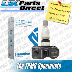 Vauxhall Adam TPMS Tyre Pressure Sensor - PRE-CODED - Ready to Fit - 433Mhz (TPMS)