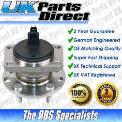 Jaguar X-Type (2001-2010) Rear Wheel Hub Bearing with ABS - OE QUALITY