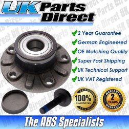 Volkswagen Golf Mk5 Plus (2005-2009) Rear Wheel Hub Bearing with ABS - OE QUALITY