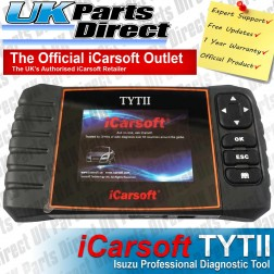 Isuzu Professional Diagnostic Scan Tool - iCarsoft TYTII