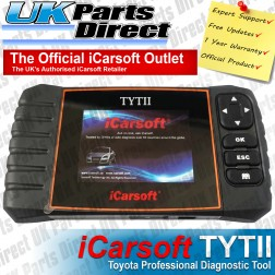 Toyota Professional Diagnostic Scan Tool - iCarsoft TYTII