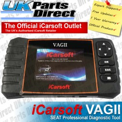 Seat Professional Diagnostic Scan Tool - iCarsoft VAGII