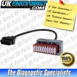 Peugeot Diagnostic Cable - 30 to 16 Pin OBD2 Diagnostic Tool Adapter Lead