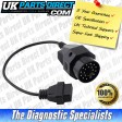 BMW Diagnostic Cable - 20 Pin to 16 Pin OBD2 Diagnostic Tool Adapter Lead